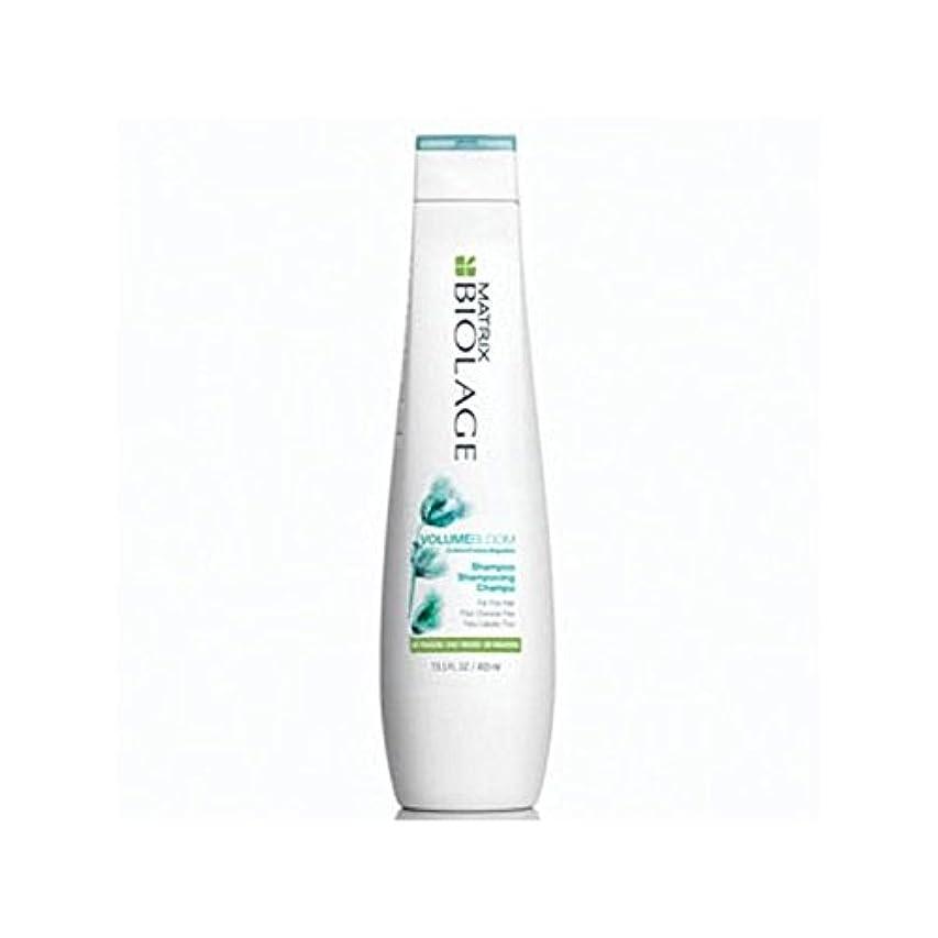 トラクターフラッシュのように素早く違反するマトリックスバイオレイジのシャンプー(400ミリリットル) x2 - Matrix Biolage Volumebloom Shampoo (400ml) (Pack of 2) [並行輸入品]