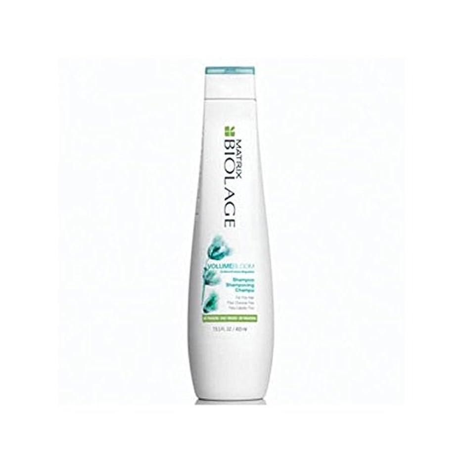 最も遠い挑むブラシMatrix Biolage Volumebloom Shampoo (400ml) - マトリックスバイオレイジのシャンプー(400ミリリットル) [並行輸入品]