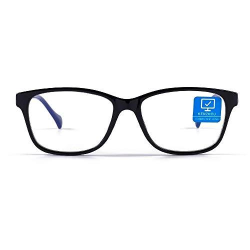 Blue Light Blocking Computer Glasses 1 pack Anti Eyestrain Unisex(Men/Women)