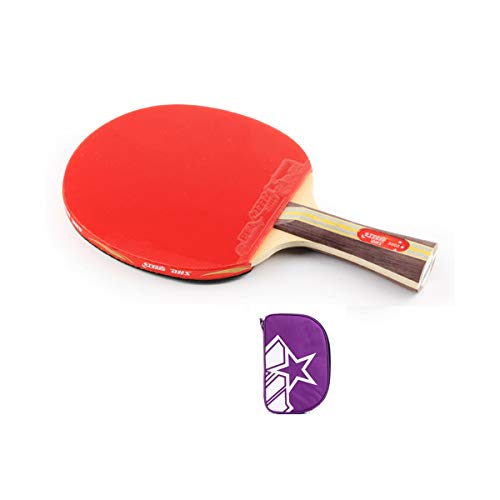 Review YINJIESHANGMAO Table Tennis Bat, Beginner Table Tennis Racket, Pen-Hold, Horizontal Shot (Siz...