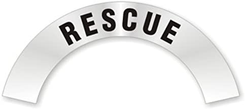 rescue helmet decals