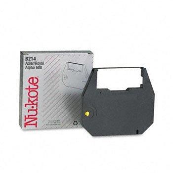 nu-kote ® Correctable film Ribbon for Nakajima, Olivetti, Olympia, Royal e Swintec Typewriters Ribn, typ, Corr, Adler 600(Pack OF2)