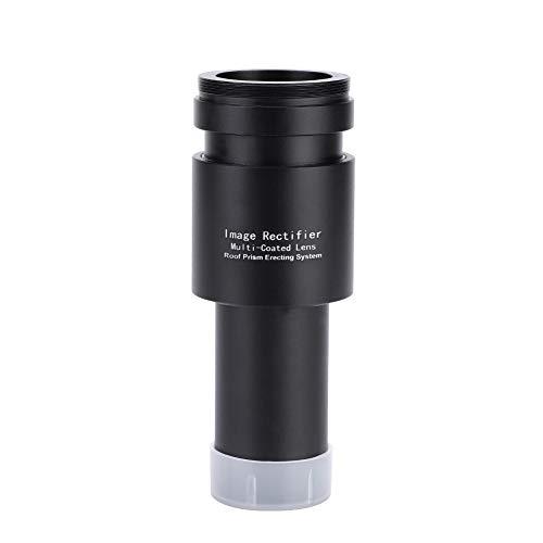 Lente Barlow, Rectificador de Imagen de aleación de Aluminio 1.25 Pulgadas Lente Barlow 1.5X M42 * 75mm Lente de Rosca Lente de Vidrio óptico para telescopio Reflector newtoniano