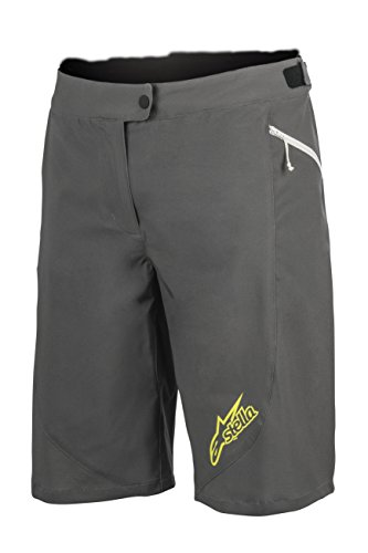 Alpinestars Stella Pathfinder Shorts, Dark Shadow Acid Yellow, 34