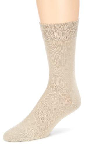 Hudson Herren Relax Cotton Socken 1 paar,Beige (Linnen 0748),41/42
