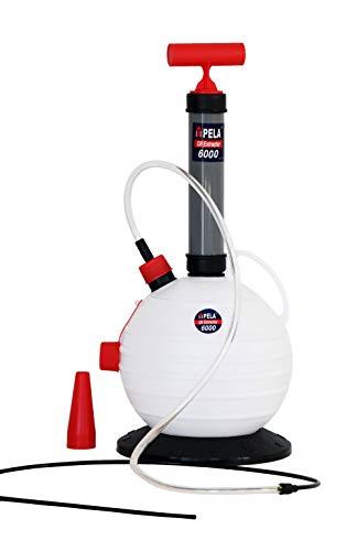 PELA 6000 Pompe de vidange Pompe d'extraction d'huile pour Moteur et Machine 6 litres