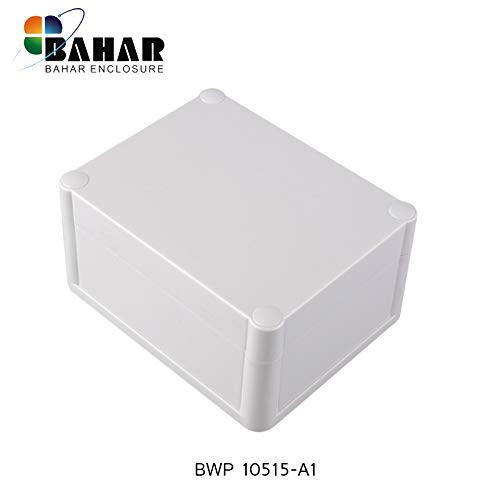 Universal Kunstoffgehäuse Wasserdichte Anschlussdose Silikondichtung Bahar Enclosure Weiße Gehäuse Junction Box IP68 Waterproof Enclosure Gehäuse aus Kunststoff BWP 10515-A1 (119 * 94 * 60 mm)