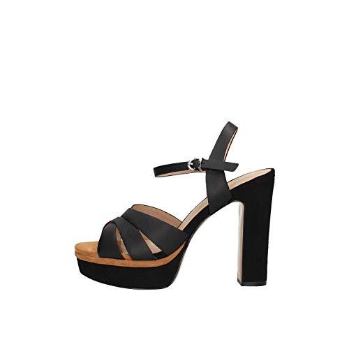 Oggi By Luciano Barachini Gl233a Sandale Femme Cuir Noir 39