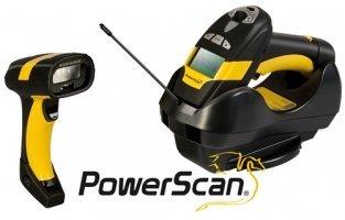 Datalogic PowerScan PM8300, Multi-IF, Kit (RS232), schwarz, gelb, Funkscanner, Industrie, Laser, Multi Interface, Reichweite: 46m, inkl.: Kabel (RS232), Netzteil, Netzkabel (EU), PM8300-433K2