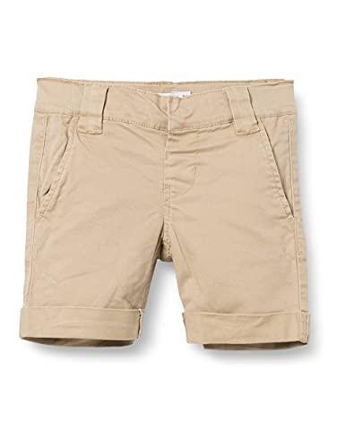 NAME IT Baby Jungen Nkmsofus Twitickas Chino Noos Shorts, Incense, 164 EU