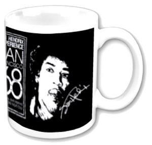Jimi Hendrix '68 (Mug) Tasse im Geschenkkarton