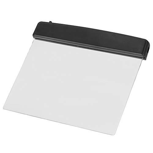 Agatige Luz de Libro para Leer en la Cama por la Noche Lámpara de Placa Plana LED portátil Protección Ocular Dormitorio