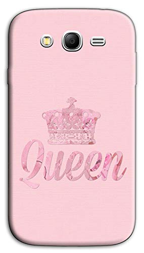 Mixroom - Cover Custodia Case in TPU Silicone Morbida per Samsung Galaxy Grand Neo I9060 (Plus) M736 Queen Pink Rosa