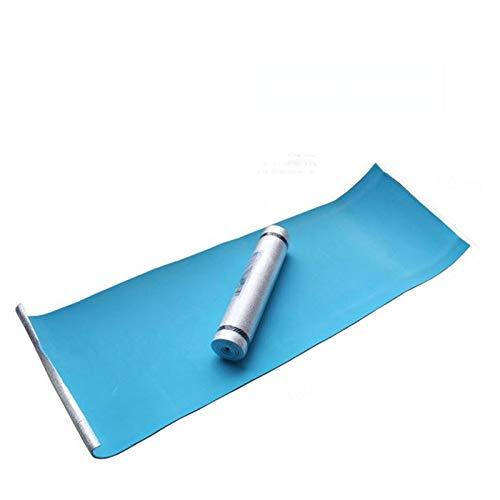 Estera de Yoga Película de aluminio a prueba de humedad Yoga Mat ejercicio del entrenamiento del gimnasio de fitness Pilates Mat picnic cabritos del bebé juega las esteras Tapetes de Entrenamiento par