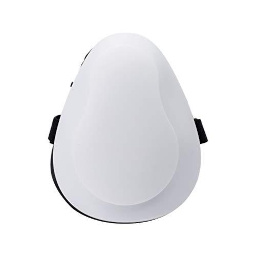 RANTA Respirador de KN95 Máscara eléctrica con Filtro de carbón Activado Purificador de Aire Fresco a Prueba de Polvo