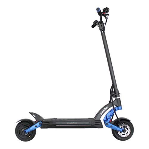 Patinete Eléctrico para Adultos - Scooter Eléctrico - Electric Scooter - Patinete Eléctrico 25 Km/h - Patines Eléctricos Adultos - kaabo Mantis 8 Plus - Doble Motor de 800 Vatios - Azul
