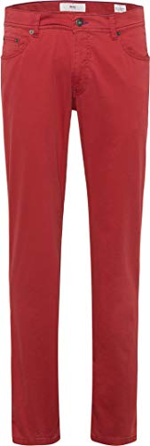 BRAX Herren Style Cooper Fancy Hose, Rot (Raspberry 47), W48/L32(Herstellergröße:48/32)