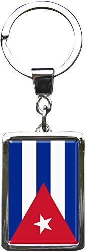 metALUm Llavero de metal/Bandera la Cuba / 6614095S