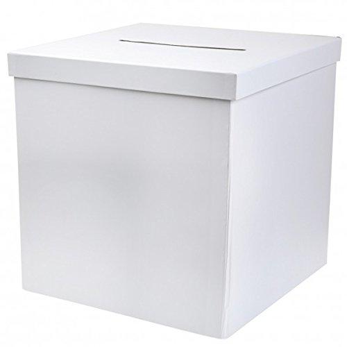 Unbekannt Briefbox Kartenbox Hochzeit Kommunion Geldgeschenke Basteln Weiß