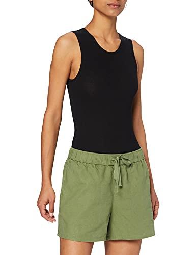 Roxy Short para Playa para Mujer Pantalones Cortos, Vineyard Green, M