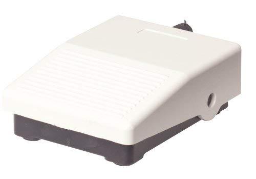 Industrie Fußschalter Fußtaster Fußpedal IP 40 | 3A/250 V AC | 0,06A/230 V DC | Tastend | Elektrische ON/OFF Fuss Pedal Taster Druckschalter