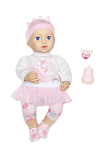 Zapf Creation 702901 Baby Annabell Sweet Dreams Mia, weiche Puppe mit...