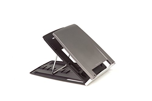 Bakker Elkhuizen BNEQ330 Notebook stand Ergo-Q 330 6 levels adjustable silver-black