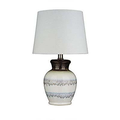 Stone & Beam Table Lamp with Ceramic Base