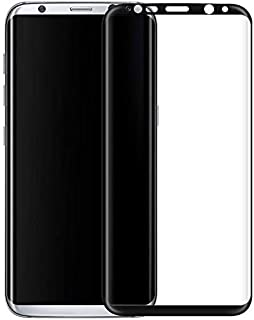 Samsung Galaxy S8+ PLUS HD Curved 3D Full Screen Tempered Glass Protector - BLACK