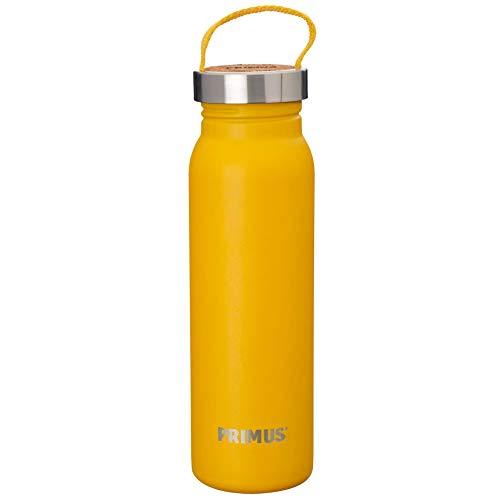 Primus Unisex– Erwachsene Klunken Edelstahlflasche, gelb, 0,7 L