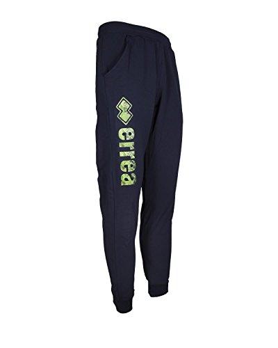 Errea Pantalone CUFFED43720 con Stampa Logo e Polsino XS