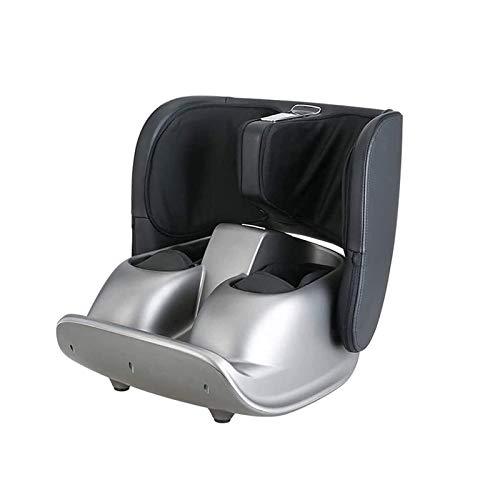ZGM XTZJ Foot and Calf Massager Foldable Machine Shiatsu Rolling Tapping and Air Compression Feet Massage with Heat, Leg Beautician Massager
