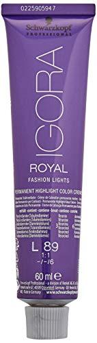 Schwarzkopf Professional Igora Royal Fashion Lights L-89 rot violett, 1er Pack (1 x 60 ml)