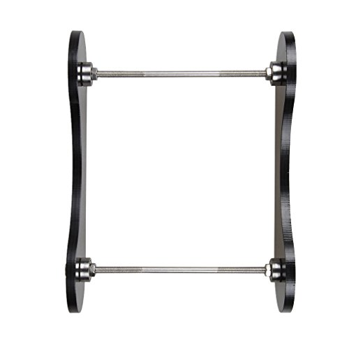 MagiDeal 3D Printer Filament Tabletop Mount Rack, Consumables Frame Silk Tray Wire Rack, 3D Printer ABS/PLA Frame Wire Frame Holder