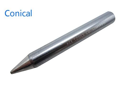 MTG20 Soldering Tips fit WLC200 120W 200W Solder Station Iron Tip Nozzle Bit (MTG20-B (Conical))