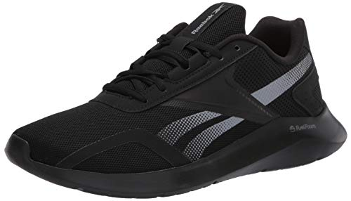 Reebok Men's ENERGYLUX 2.0 Running Shoe, Black/Grey/Black, 11 M US
