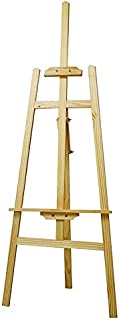 Urban Utility Easel Wooden Adjustable Strip Painting Easel Canvas for Painting Wedding Display Studio Art 150 CM