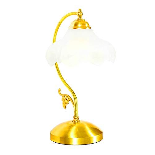 KLDDE Estilo Americano Retro Resina Lámpara de Mesa de Estudio Habitación Sala de Estar Sala de Estar Dormitorio Lámpara de Mesa de Noche Moderna y Elegante lámpara de Mesa Ligera