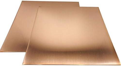 Copper sheet 1,0mm cu-dhp copper sheet plate kupfer copper-blech