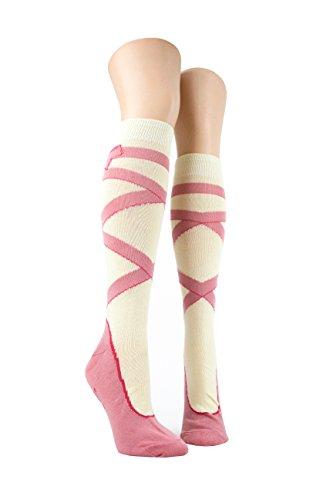 Foot Traffic, Knee High Socks, Ballet Shoe