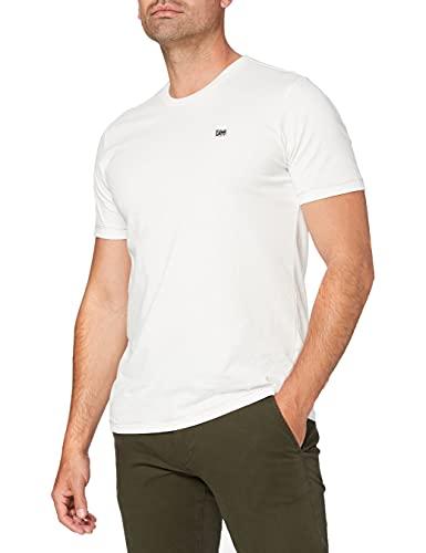 Lee Pride Tee T-Shirt, White Canvas, M Uomo