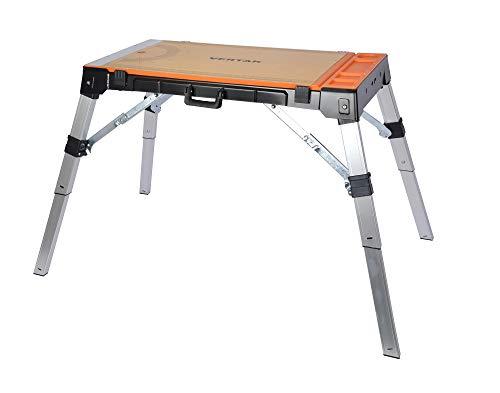 Vertak 4 in 1 con funzione Muti, banco da lavoro pieghevole, tavolo da lavoro per la riparazione e il trasferimento di merci, mobili da lavoro