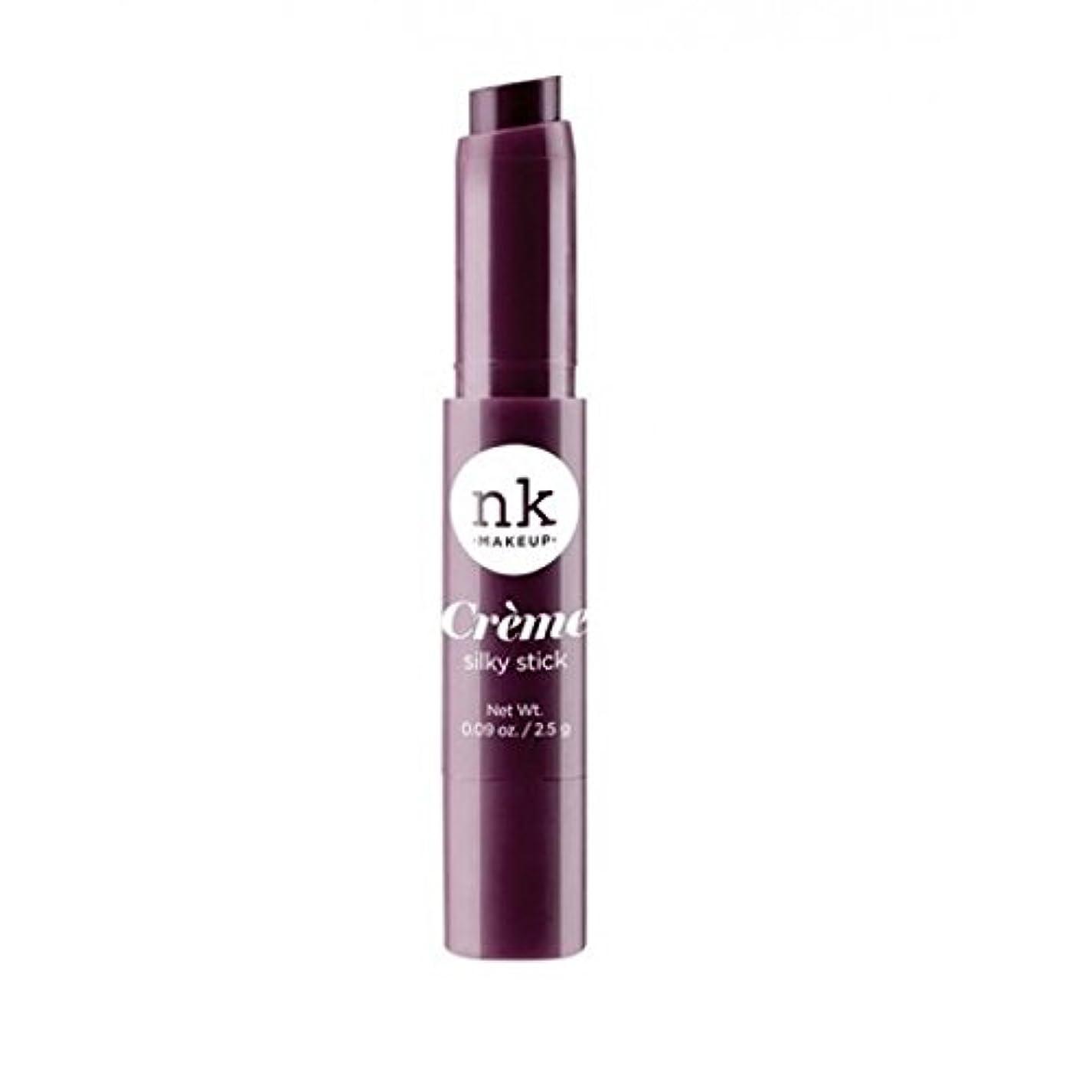 征服かなりの表示(3 Pack) NICKA K Silky Creme Stick - Maroon Oak (並行輸入品)