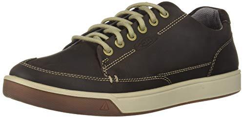 KEEN Herren Glenhaven Sneaker Turnschuh, Mulch/Roobios Tee, 44 EU