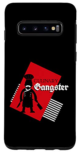 Galaxy S10 Culinary Gangster Funny Cook, Culinary And Chef Gift Case