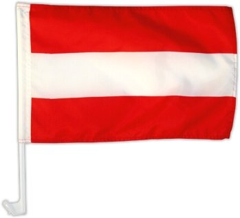 Autofahne Autoflagge Österreich 30 x 45 cm
