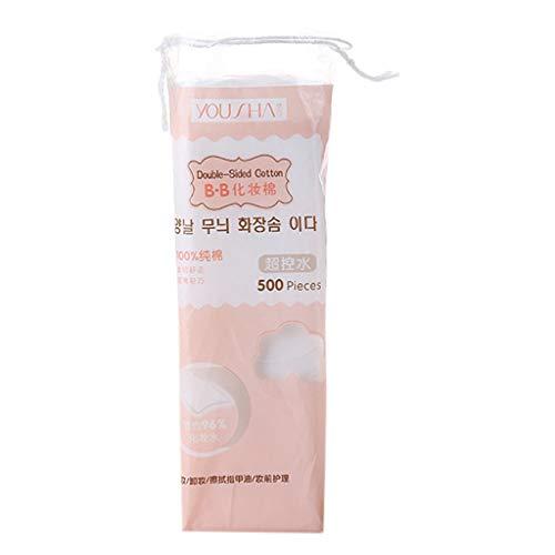 chenpaif 500 Pcs/Sac Facial Mince Non Tissé Maquillage Coton Tampons Nail Polish Remover Tissus