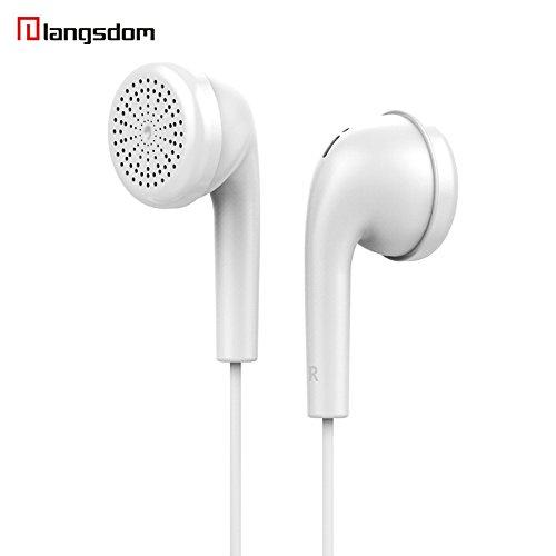 Yowablo Kopfhörer ohrhorer kabellos 3,5 mm kolben in-Ear Stereo ohrhörer kopfhörer Headset Für iPhone ( Weiß )