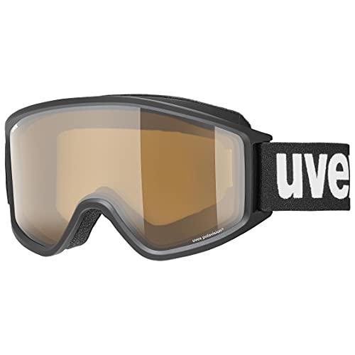 uvex(ウベックス) スキースノーボードゴーグル ユニセックス 偏光レンズ アジアンフィット メガネ使用可 g.gl 3000 P