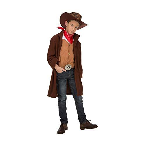 My Other Me Me-204253 Disfraz de cowboy para niño, 5-6 años (Viving Costumes 204253)